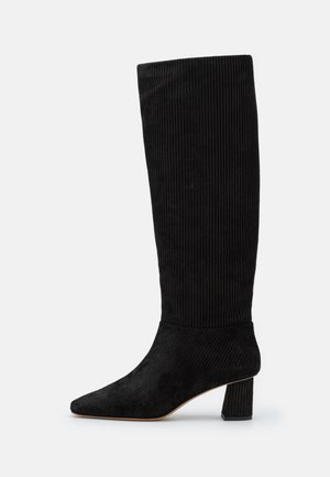 TESS SQUARE TOE SHAFT BOOT - Laarzen - black