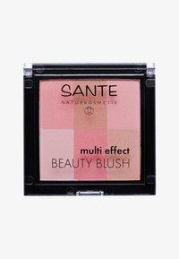 Sante - MULTI EFFECT BEAUTY BLUSH  - Blush - 01 coral - 0