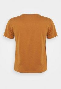 Even&Odd Curvy - Print T-shirt - brown - 6