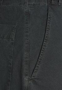 Proenza Schouler White Label - WASHEDBELTED PANT - Kalhoty - black - 2