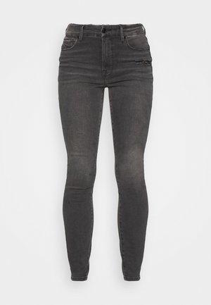 GOOD LEGS LEOPARD PRINT BAGS - Jeans Skinny Fit - black