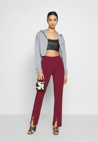 Nly by Nelly - CROP TOP - Camicetta - black - 1