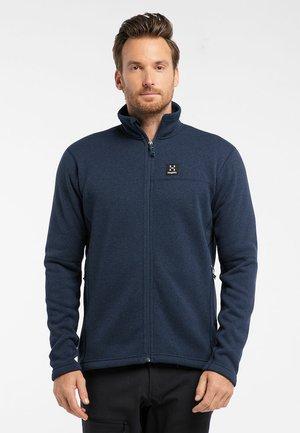 SWOOK JACKET  - Fleece jacket - tarn blue