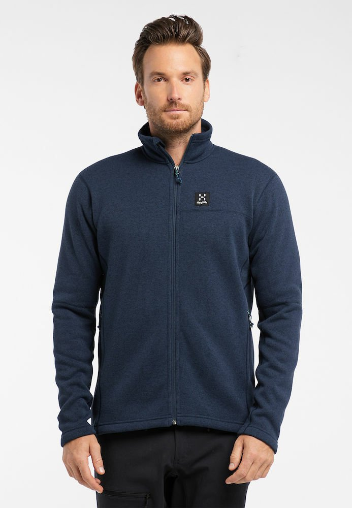 Haglöfs - SWOOK JACKET  - Fleece jacket - tarn blue