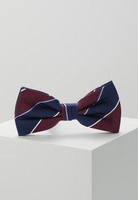 Tommy Hilfiger - STRIPE BOWTIE - Bow tie - red - 0