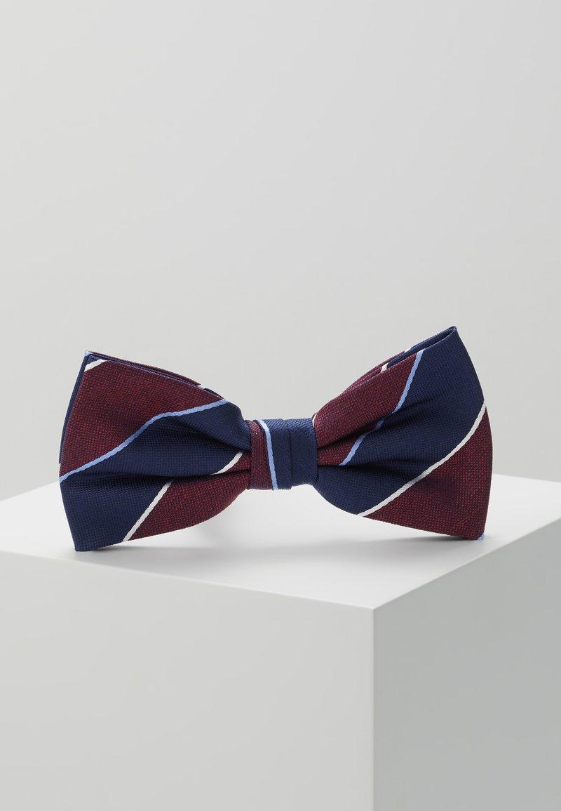 Tommy Hilfiger - STRIPE BOWTIE - Bow tie - red