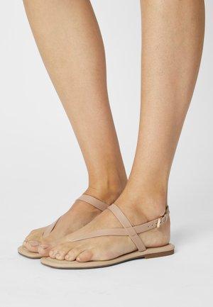 HOLTHUIS - Sandály s odděleným palcem - bone