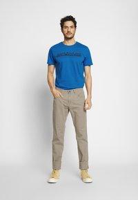 TOM TAILOR - Print T-shirt - victory blue - 1