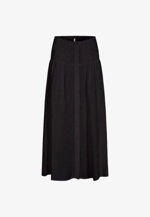 SC-RADIA 109 - A-line skirt - black