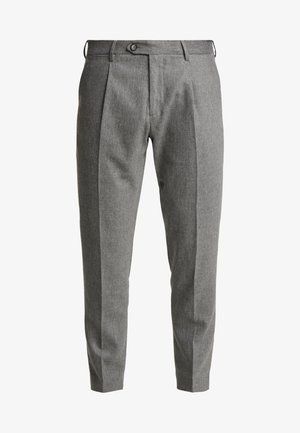 PLEATED FLEX PANT - Trousers - grey