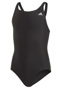 adidas Performance - SOLID FITNESS SWIMSUIT - Badpak - black - 2