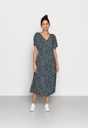 KARNA BEACH DRESS - Kjole - dark blue