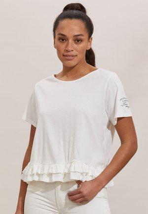 SALLY - Print T-shirt - light chalk