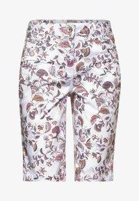Cecil - Shorts di jeans - weiß - 3