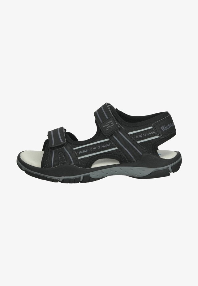 Sandalen - black akz ash