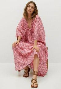 Mango - Maxi dress - rosa - 4