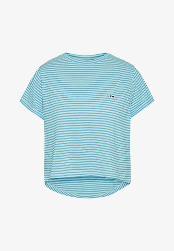 RELAXED FIT - Print T-shirt - seashore blue / multi