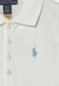 Polo Ralph Lauren - Denní šaty - white/turquoise cloud - 2