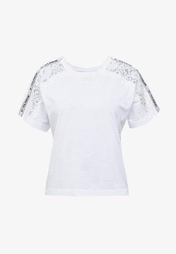 QUERCIA - Print T-shirt - white
