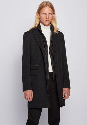 NIDO - Classic coat - dark grey