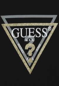Guess - JUNIOR  - Long sleeved top - noir de jais