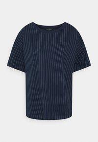 Lauren Ralph Lauren Woman - LAFREYA SHORT SLEEVE - T-shirt basic - french navy/pale cream - 5