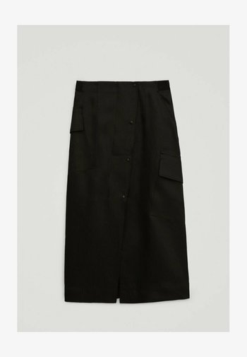 LIMITED EDITION  - A-line skirt - black