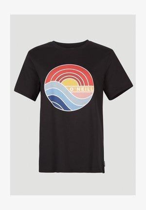 SUNRISE - Print T-shirt - blackout