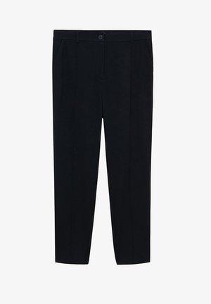 TRAVEL - Pantalon classique - black