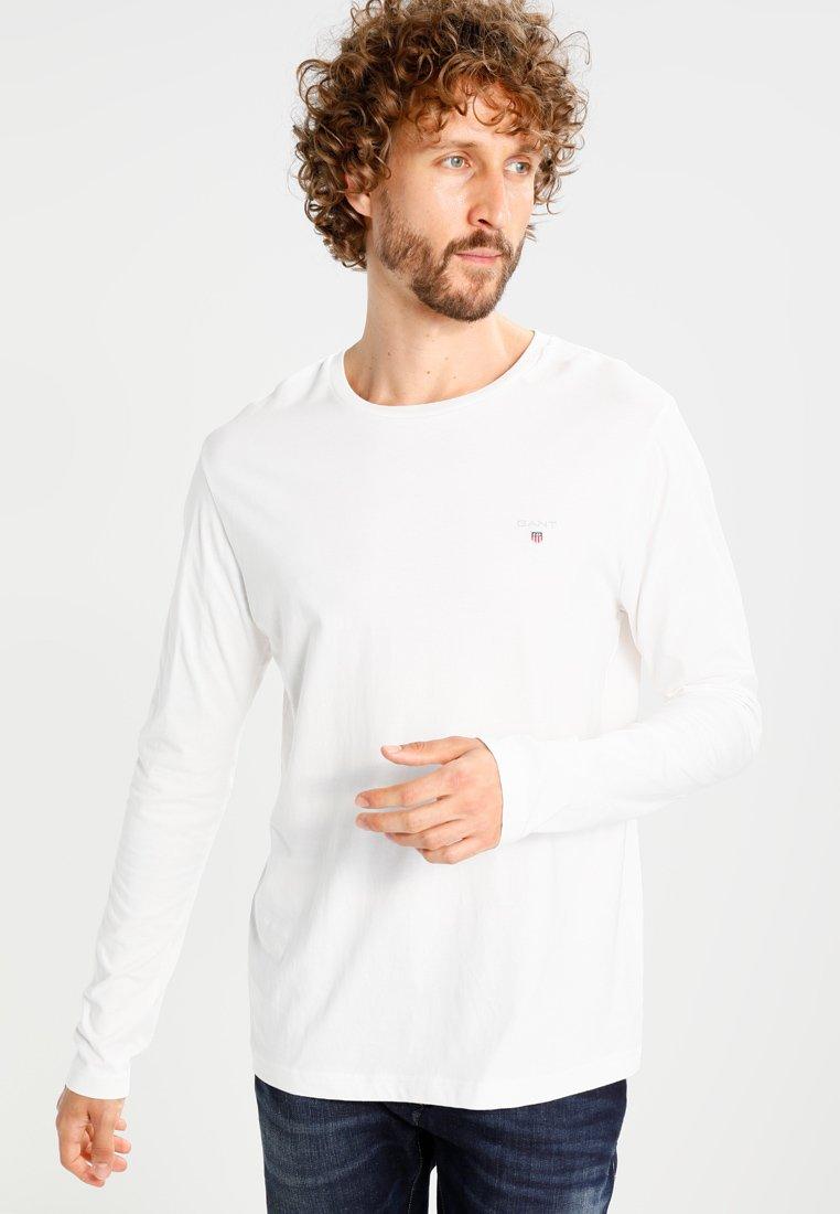 GANT - THE ORIGINAL - Langærmede T-shirts - egg shell