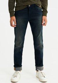 WE Fashion - Straight leg -farkut - dark blue - 0