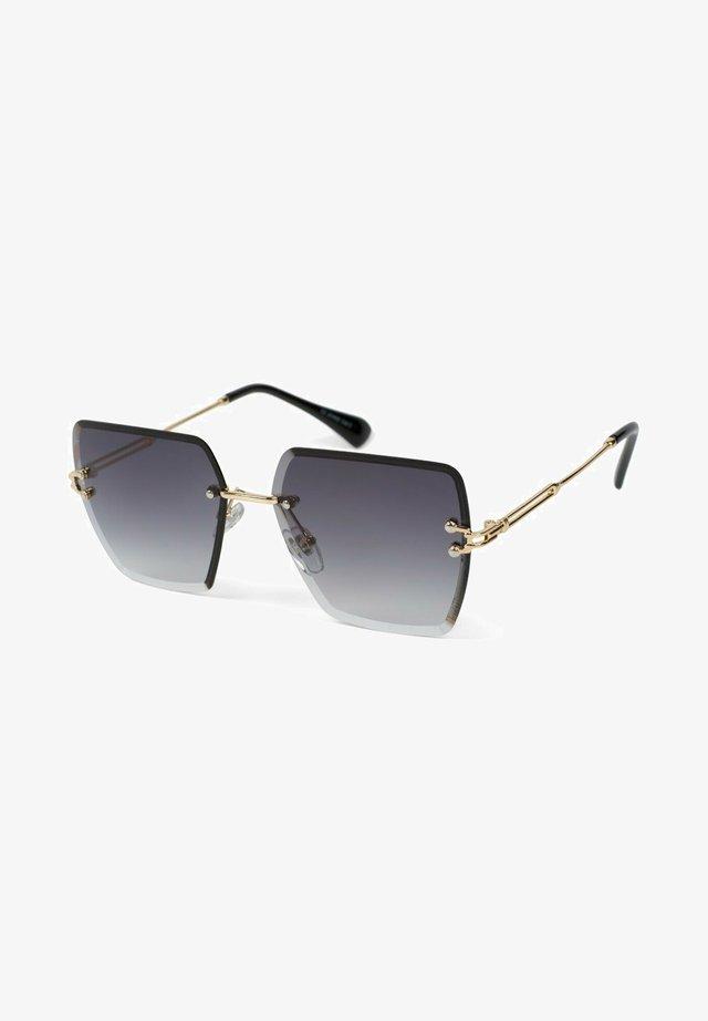 Sunglasses - gestell gold / glas grau verlauf