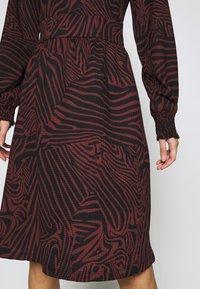 ONLY - ONLZILLE SMOCK DRESS - Jersey dress - port royale - 5