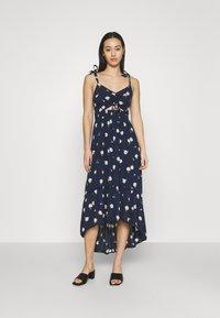 Hollister Co. - CHAIN DRESS - Day dress - navy - 0
