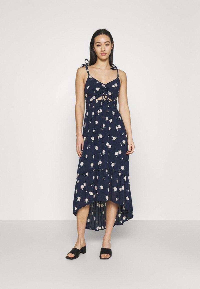 Hollister Co. - CHAIN DRESS - Day dress - navy