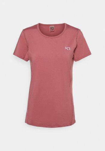 NORA TEE - Camiseta estampada - lilac