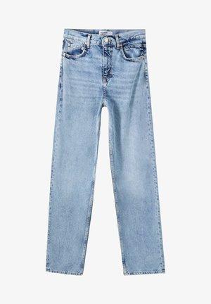 MIT WEITEM BEIN UND RISSEN - Jeans Relaxed Fit - blue