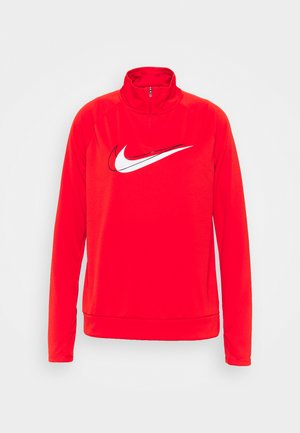 RUN - Long sleeved top - chile red/white