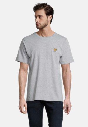 Print T-shirt - grau melange