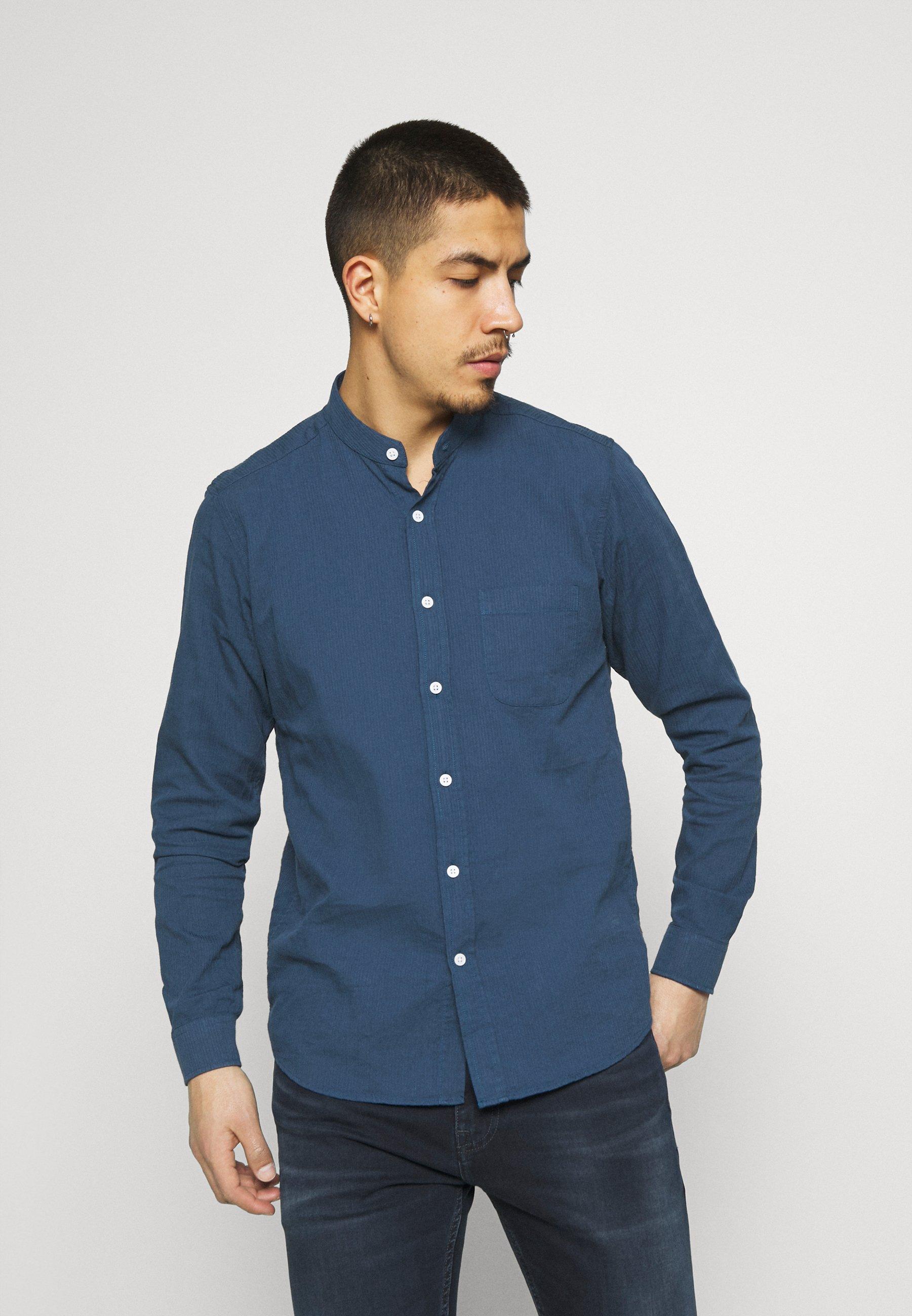 Men SHIRT TEXTURED STRIPE - Shirt