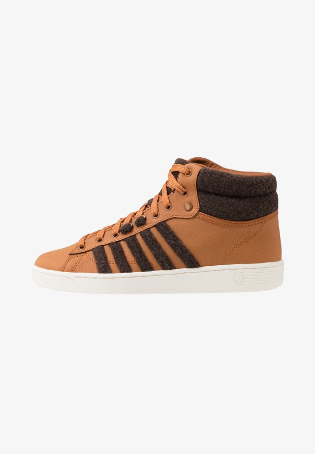 HOKE MID CMF - High-top trainers - brown/cloud dancer