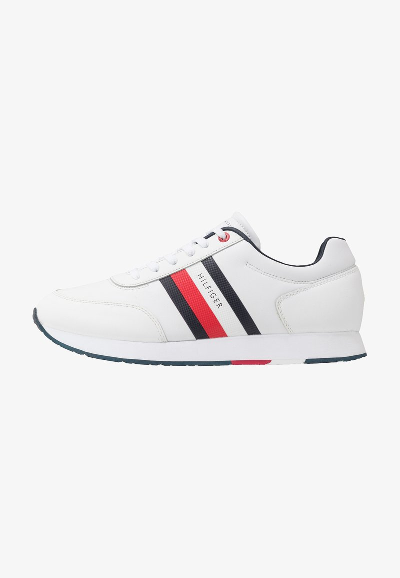 Tommy Hilfiger - CORPORATE FLAG RUNNER - Sneakers - white