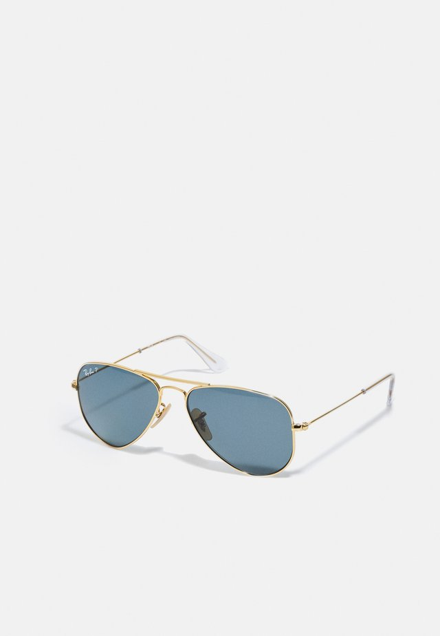 JUNIOR AVIATOR UNISEX - Sunglasses - shiny gold-coloured