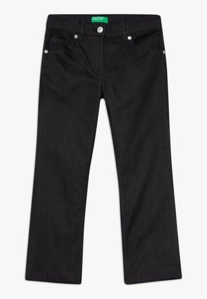 TROUSERS - Bootcut jeans - black