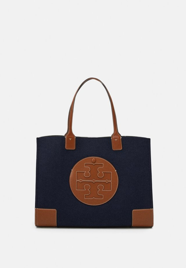 ELLA FELT COLORBLOCK TOTE - Tote bag - navy