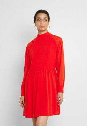LADIES DRESS - Day dress - red orange