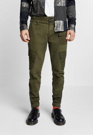 ALBERT - Cargo trousers - green