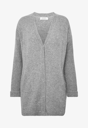 LAGINA - Strikjakke /Cardigans - medium grey melange