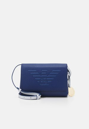 ROBERTA EAGLE MINI  - Across body bag - oltremare|perla