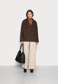 Lindex - JACKET DEHLIA - Light jacket - brown - 1